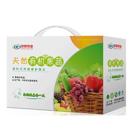 【中科農業】500元蔬菜禮盒(僅限北京天津發貨,蔬菜總量8份起訂)