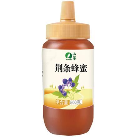 中粮 山萃 蜂蜜 荆条蜜 500g(瓶装)成熟蜜