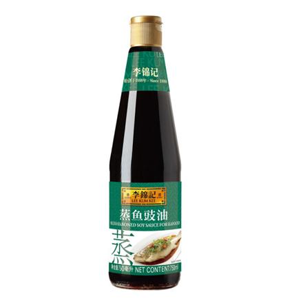 李锦记 酱油 蒸鱼豉油 清蒸海鲜酱油 410ml