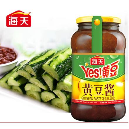 海天 黃豆醬 豆瓣醬甜面醬料 800g 中華老字號