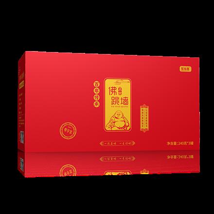 星龍港佛跳墻三羊開泰240g*3罐