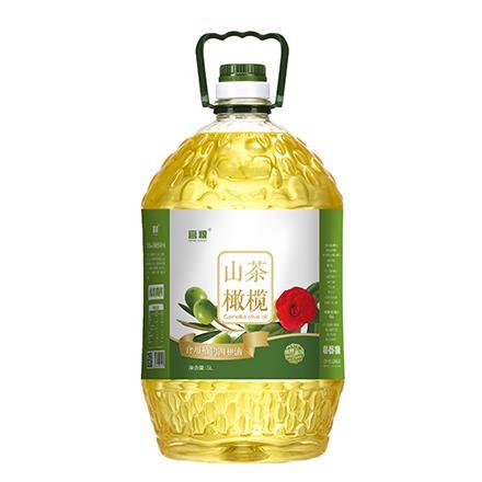 宫粮山茶橄榄调和油5L