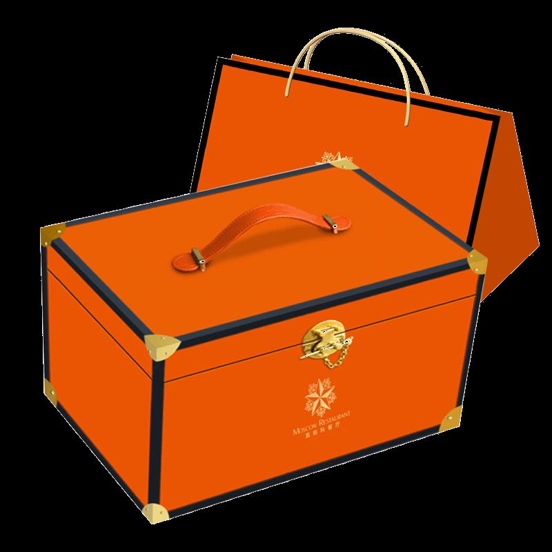 莫斯科餐厅光辉岁月月饼礼盒960g