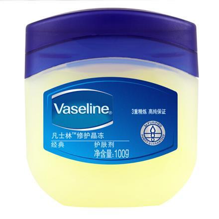 凡士林(Vaseline)經典 修護晶凍100g 保濕潤膚霜/手霜 (新老包裝隨機發貨)
