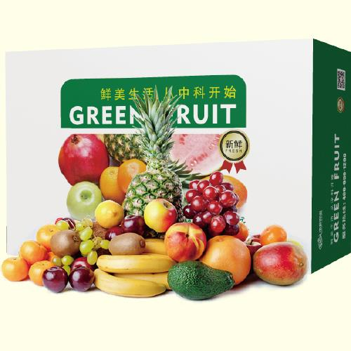 中科鲜精选水果礼盒(20种)约9kg