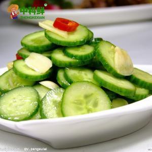 【中科鮮】新鮮刺黃瓜 長黃瓜500g  (僅限北京天津發貨,蔬菜總量8份起訂)