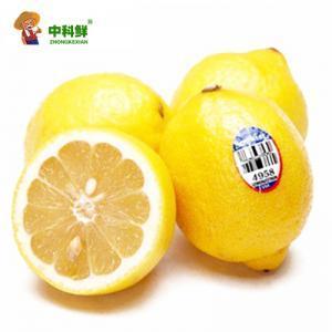 【中科鲜】 美国新奇士黄柠檬/优力克4个装约1斤