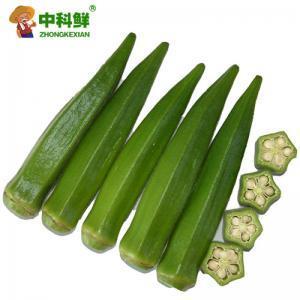 【中科鲜】黄秋葵500g   (仅限北京天津发货,蔬菜总量8份起订)
