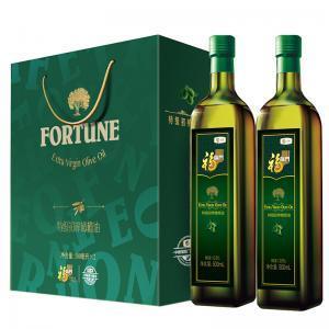 中粮福临门橄榄油礼盒500ml*2瓶