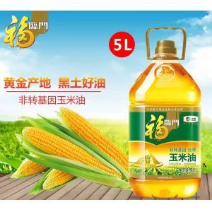 福临门非转基因黄金产地玉米油5L(限京津冀地区发货)