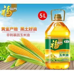 福臨門非轉基因黃金產地玉米油5L(限京津冀地區發貨)