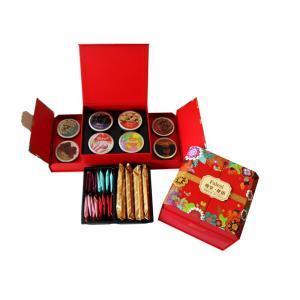 法樂茲糕點禮盒堅果禮盒 高檔高端禮盒送禮禮品西餅奶香酥堅果巧克力組合裝大禮包 慰問禮品零食小吃 尊享花語950g