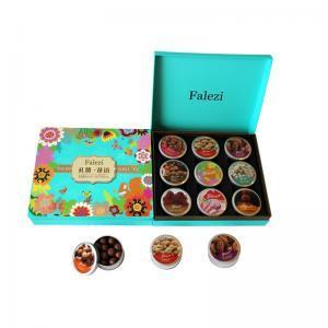 法樂茲糕點禮盒堅果禮盒 高檔高端禮盒送禮禮品西餅奶香酥堅果巧克力組合裝大禮包 慰問禮品零食小吃 禮贊花語756g