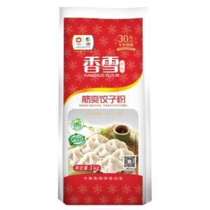 福臨門面粉麥芯多用途小麥粉高筋餃子粉 香雪筋爽餃子粉1kg*2