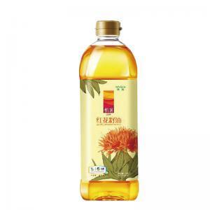 中粮悦润红花籽油1L