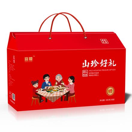 宫粮—菌礼到家菌菇礼盒680g