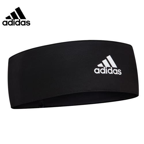阿迪达斯(adidas)运动吸汗带头带 男女通用发带 网球篮球护额头箍跑步头巾导汗带 ADAC-16211BK 黑色