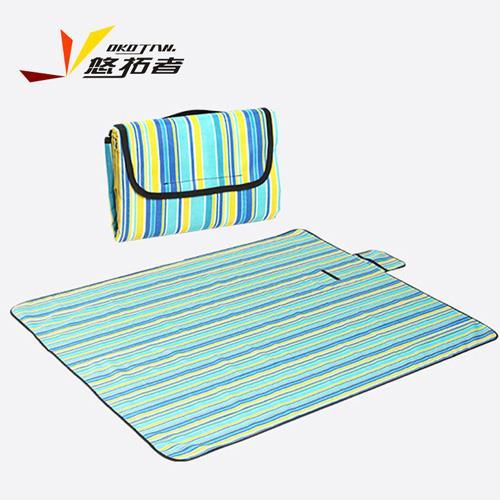 野餐垫户外  牛津布防潮垫 加厚帐篷垫子 沙滩垫 大尺寸草坪垫双面可用150*180cm