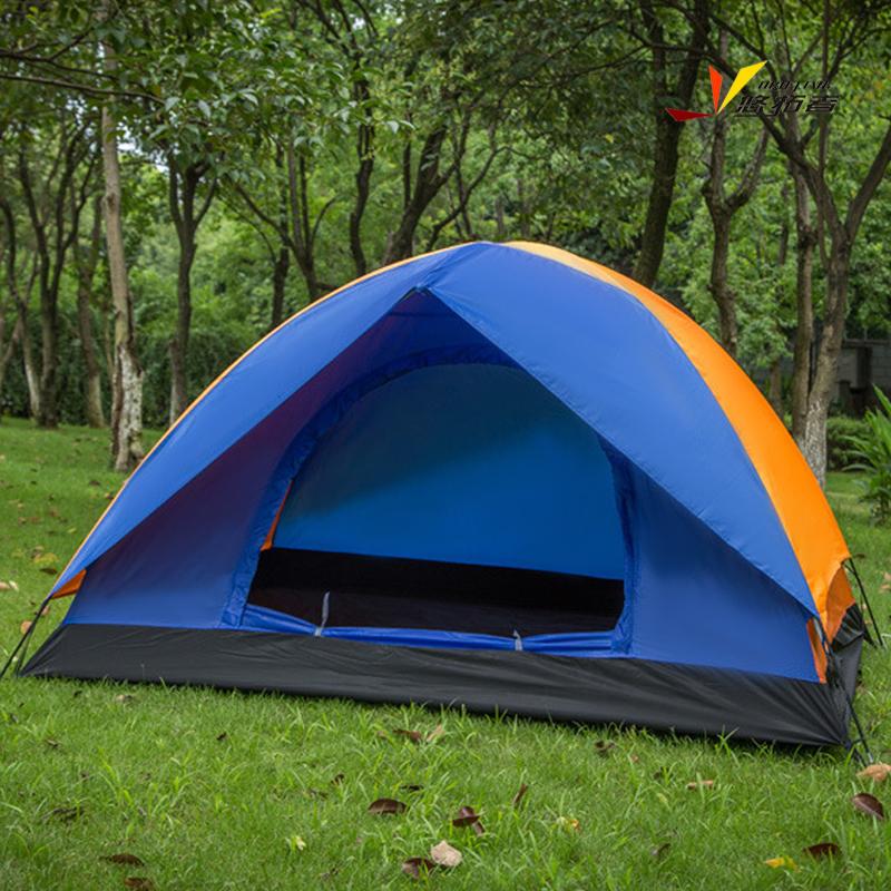 悠拓者 防雨登山野外露营双层三季帐多人3-4人帐篷