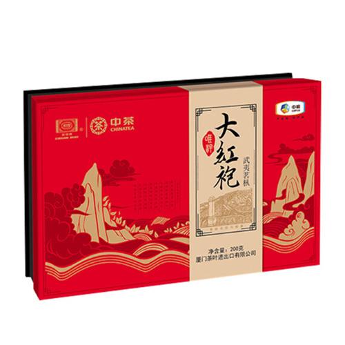 中粮中茶唯粹武夷茗枞大红袍礼盒200g