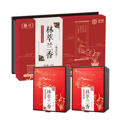 中粮林萃兰香经典红茶礼盒200g