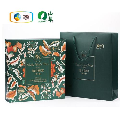 中粮山萃每日燕窝礼盒175g(35g*5)瓶装即食