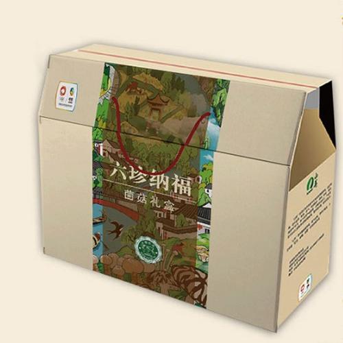 中粮干菌礼盒 山珍大礼包菌菇干蘑菇黑木耳节日礼品团购 八珍萃飨 390g