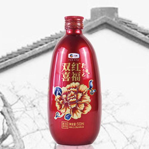 中粮孔乙己绍兴黄酒红芙蓉电商版花雕酒500ml*1瓶 加饭酒古法冬酿