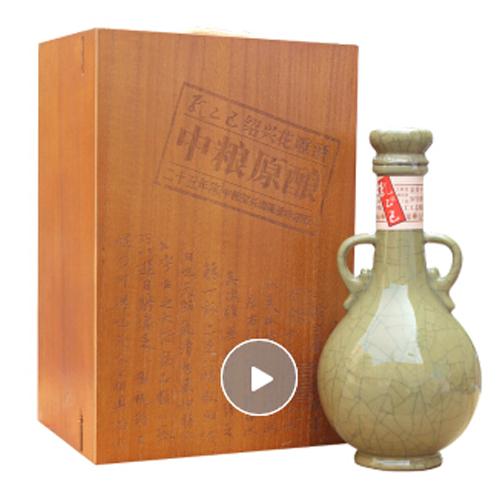 孔乙己 绍兴黄酒 中粮原酿 二十五年陈花雕 500ml 礼盒装