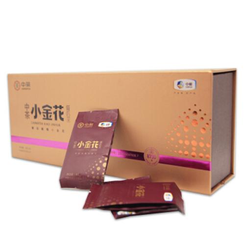 中茶百年木仓 湖南安化黑茶茯茶 金花茯砖茶 小金花黑茶 餐后茶 礼盒装120g