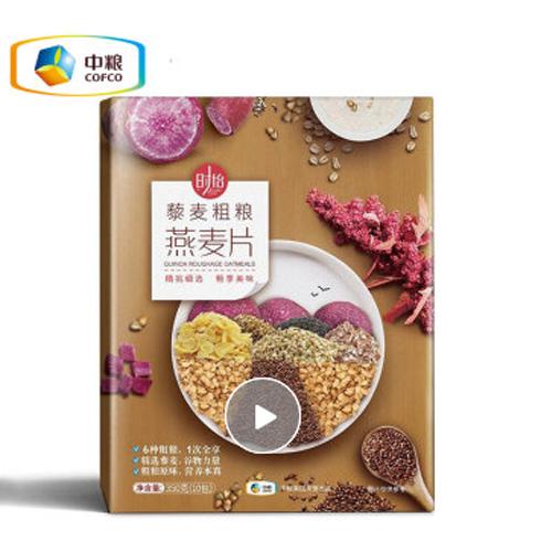 中粮时怡燕麦片早餐代餐 五谷藜麦燕麦片680g