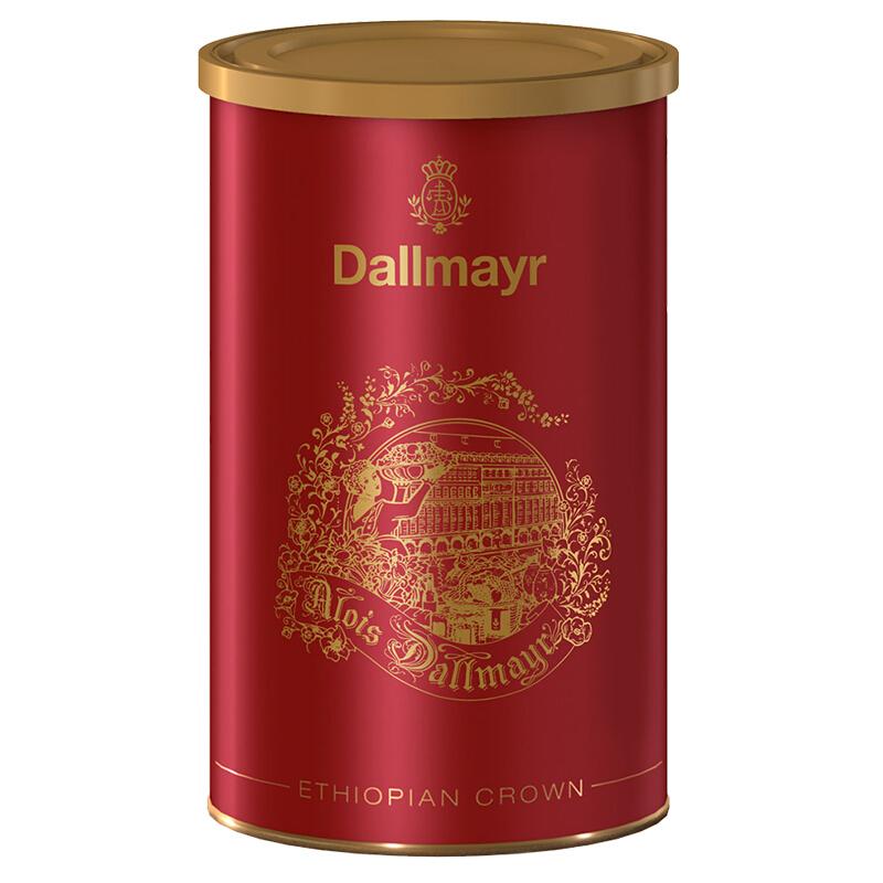 dallmayr达尔麦亚 埃塞俄比亚咖啡粉250g罐装单品咖啡 德国进口 埃塞俄比亚