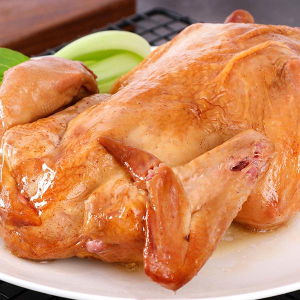 八瑞祥传统五香脱骨清香童子鸡扒鸡烧鸡童子鸡550g/袋卤味熟食即食加热食用肉质鲜嫩