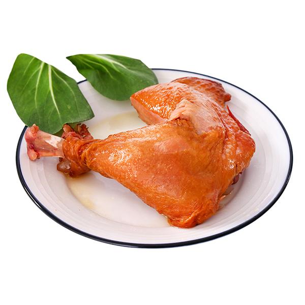 八瑞祥 新鲜熟食手撕鸡腿200g/袋*2袋 休闲食品鸡鸭零食真空包装下酒菜
