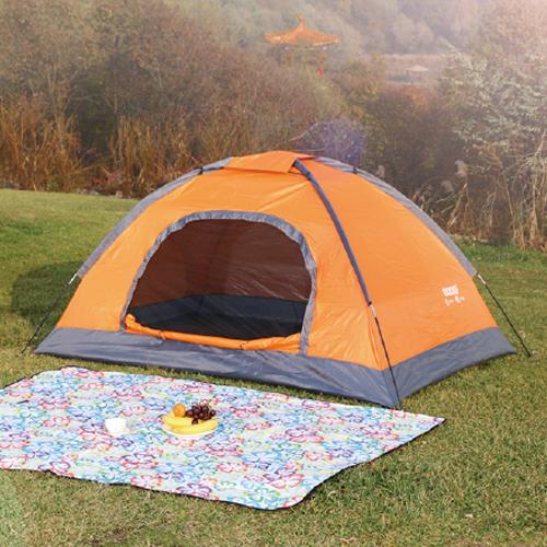 汉乐美途双人帐篷HL-0101(橙色)