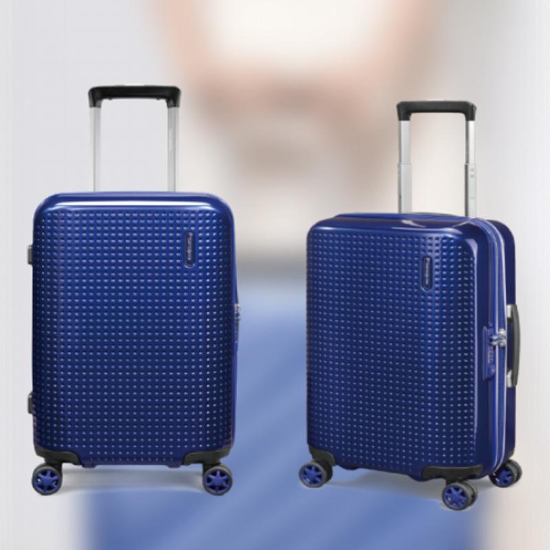 新秀丽四轮拉杆箱 55-20-蓝色--AG2*41001