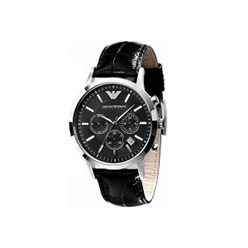 阿玛尼(ARMANI)手表男士手表情侣手表时尚商务休闲非机械表多功能男表AR2447