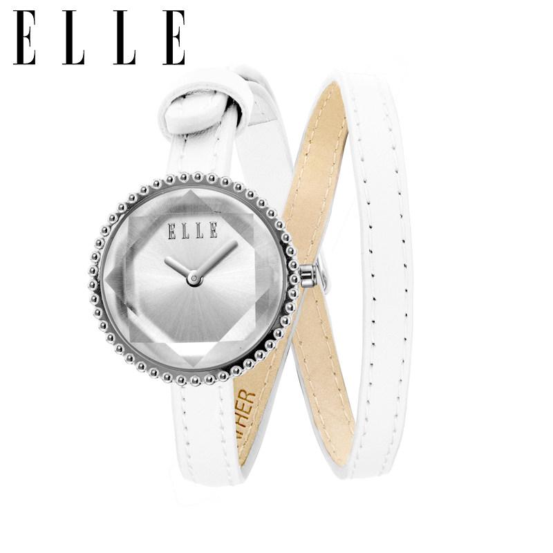 ELLE时尚女表(白色)EL20255S04X