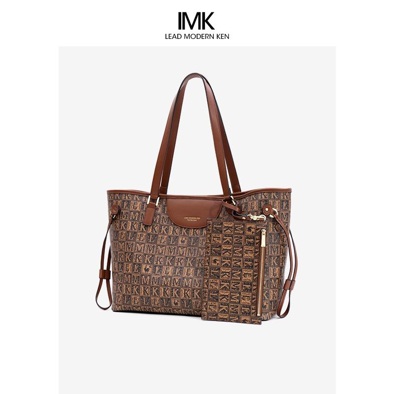 法国L MK女包旗舰店官托特包女大容量2021新款百搭奢侈品包包大牌