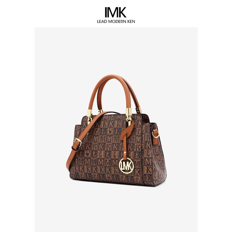 法国L MK名牌女包旗舰店官手提包包2021新款时尚百搭女士斜挎包潮
