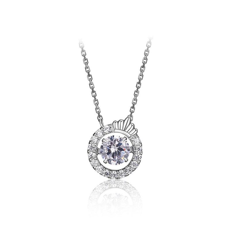 ELLERoyal Crown项链时尚简约锁骨链送闺蜜礼物40cm+5cm(延长链)