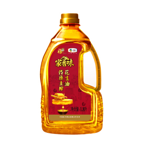 中粮福临门家香味土榨花生油1.8L