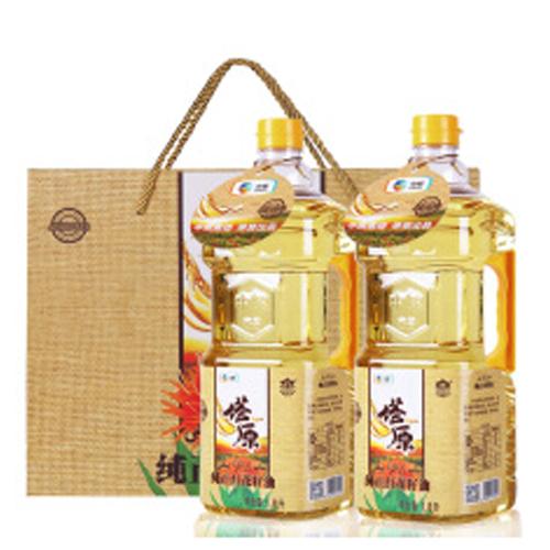 中粮塔原纯红花籽油1.8L*2瓶