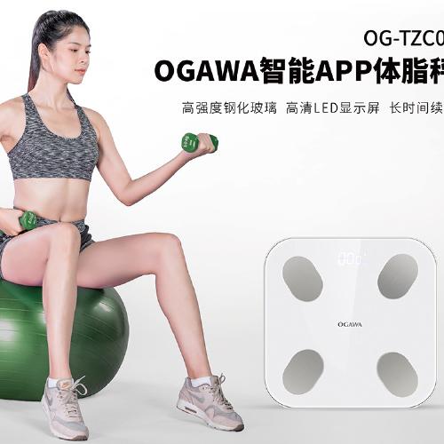 OGAWA奥佳华智能APP体脂秤OG- TZC01