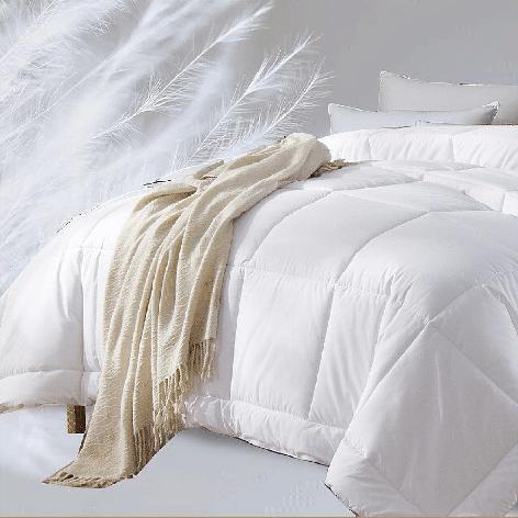 世茂希尔顿五星级酒店羽绒被冬被加厚保暖被芯被子双人春秋被 200*230cm(秋冬被)